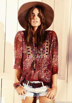 Moda verano 2015, túnicas y blusas de moda, Kevingston primavera verano 2015.
