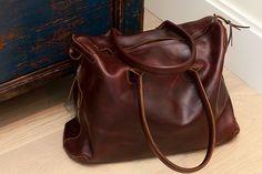 Basil Racuk mini-voyager bag.