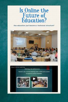 Help spread the word about Is Online the Future of Education?. Please share! :)