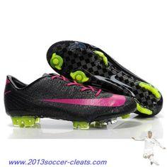 Cheap Nike Mercurial Vapor Superfly III FG Boot Black Rosy Safari Football Boots