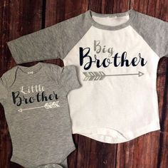 Big Brother Shirt Little Brother Outfit Big Brother and