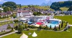 Apartment Swiss Holiday Park in Morschach - 8 persons, 3 bedrooms - Morschach Grand Parc, Holiday Park, Vacation Apartments, Swimming Pools, Dolores Park, Mansions, House Styles, Travel, Geneva