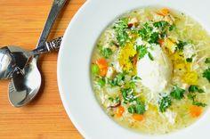 Seeking Comfort through Soup: Grandma's Chicken Soup (Canja de Galinha)... Enjoy!