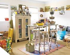 23 Craft Studios You'll Be Totally Jealous Of... so much studio envy going on...