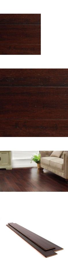 Wood Flooring 84221: New Hdc 1 2 X5-1 8 X72-7 8 Strand Woven Dark Mahogany Solid Bamboo Flooring -> BUY IT NOW ONLY: $74.99 on eBay!