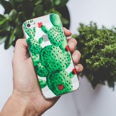 FREE worldwide shipping for them #phone #cases at www.donttellanyone.net/shop! only for 15€!!! #bloggers #design #illustration #mobile #accessories #cover #cactus #phonecase #iPhonecase #Samsung #red #green
