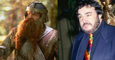 """Джон Рис-Дэвис в роли Гимли, """"Властелин колец:Две крепости"""" / John Rhys-Davies, """"The Lord of the Rings: The Two Towers"""" (2002) #джонрсдэвис #гимли #властелинколец"""