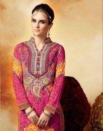 Orange Color Opulent Salwar Suit With Gorgeous Print Work