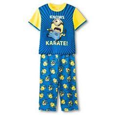 61a96f430c891 Boys' Despicable Me Minion Pajamas Boys Pajamas, Minion, My Boys, Boy  Outfits