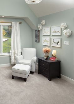 Sherwin Williams Comfort Gray SW 6205 for the master bedroom. Bedroom Paint Colors, Paint Colors For Home, Wall Colors, Master Bedroom Color Ideas, Sherwin Williams Comfort Gray, Grey Carpet, Luxury Interior Design, My New Room, Home Office