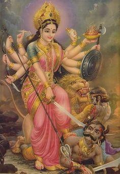 ドゥルガー女神