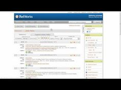 Using Quick Search tool to search for references and attachments containing specific words in RefWorks Reference Format, Organization, Organizing, Ads, Writing, Create, Search Tool, Searching, Paper