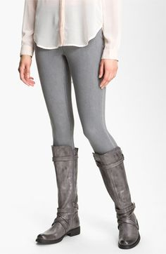 So classic! Hue Denim Leggings available at #Nordstrom