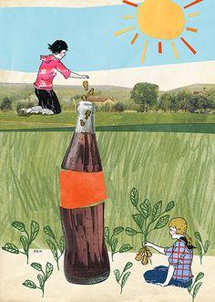 Gravy Quarterly illustration - Natalie K Nelson
