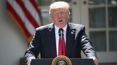 Trump heard from many people over time, from those in his inner circle to chief executives of major companies to world leaders when he was in Europe. In the end, he wasn't swayed by those who urged him not to take the drastic step of pulling out. His view that the climate agreement penalized the United States economically prevailed.