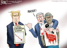 Again, the Mainstream media appears to be on the opposite side of American's safety, even when deporting the dangerous MS 13. Political Cartoon A.F. Branco