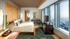 Corner Rooms at The Mandarin Oriental, Tokyo, Japan