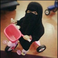 Image result for child wearing niqab