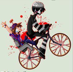 FNAF / Happy Wheels crossover!