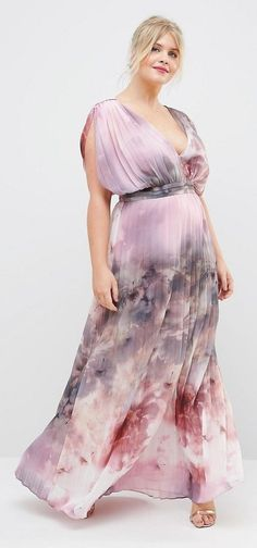 Hey plus size SSu YangN, your dress for that wedding you're invited to this summer is calling