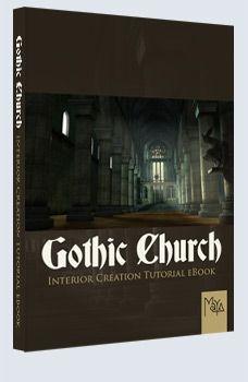 Gothic Church - Maya £9.95