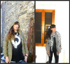 idee outfit felpe, parka, jeans, leggings, amanda marzolini steetstyle fashion outfit blogger parma bologna the fashionamy, fashion blgoger nuovi brand collaborazioni,
