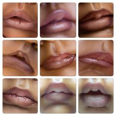 My painted lips....