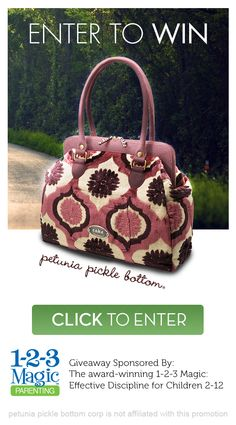 Win this Petunia Pickle Bottom Bag: Cosmopolitan Carryall in Plum Tart Cake ($350 Value)