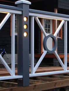 Wooden lamp post give more glamour to your building Wooden Lamp, Fences, Glamour, Lights, Mirror, Building, Design, Home Decor, Picket Fences