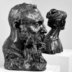 Auguste Rodin par Camille CLAUDEL (1864-1943) en 1888-89. Bronze, fonte par F. Rudier. Musée Camille Claudel à Nogent-sur-Seine. Photo : Hervé Leyrit