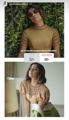 Aari Embroidery, Mandarin Collar, Neckline, Blouse, Lace, Tops, Women, Fashion, Moda