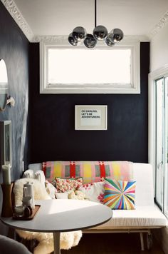 love this little sitting corner