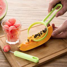 2 pcs/set Fruits outils chair séparateur pas mal la main facile à nettoyer Fruits pelés dispositif(China (Mainland))