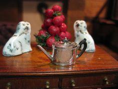 Miniature Dollhouse Artisan Stuart McCabe Sterling Silver Tea Coffee Pot 1:12 | eBay