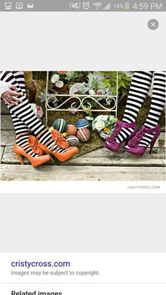 The socks..