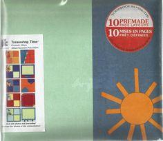 Treasuring Time Premade Album Summer 20-8961 by Provo Craft Scrapbook #ProvoCraft
