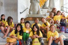SAM Camp: Time Travelers Asian Art Museum Seattle, WA #Kids #Events