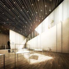Semi-Underground Rehearsal Hall. Image © Tomas Ghisellini Arcitects