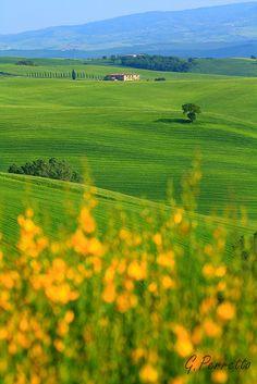 vastness, Tuscany
