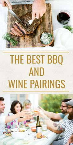 Where barbecued meats and sauces are concerned, red wine pairings rule. However, wine matches for lighter foods from the bbq include all possible variations of whites and rosés. Here's your premier guide to pairing the best wines for a barbecue and serving them, too! #grilling