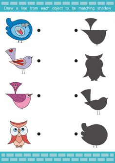 This cute and colorful activity sheet is great for young learners who are working on their problem solving skills. Have your students Toddler Learning Activities, Brain Activities, Logic Games For Kids, Conversation Starters For Kids, Animal Intelligence, Bird Theme, Brain Games, Art Lessons Elementary, Activity Sheets