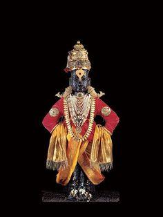 Lord Vithal, or Panduranga Vittala, is an incarnation of Lord Vishnu and is worshipped in the world famous Pandarpur Rukmini Vithal Temple at Pandarpur in Radhe Krishna Wallpapers, Lord Krishna Wallpapers, Ganesh Lord, Lord Vishnu, Om Namah Shivaya, Hanuman Chalisa, Hanuman Tattoo, Yashoda Krishna, Krishna Krishna