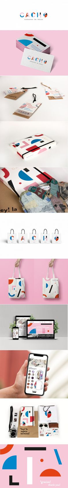 Cacho fashion brand by Florence Suaya, Julia Artero Aspiroz, and Angeles María Baeck | Fivestar Branding Agency – Design and Branding Agency & Curated Inspiration Gallery #fashion #branding #design #logo #packaging #businesscards #behance #pinterest #dribbble #fivestarbranding