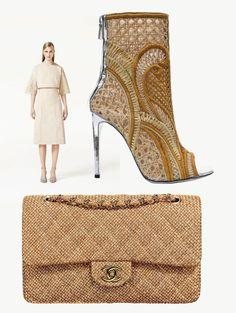 Botines de Balmain / Bolso de Chanel