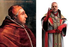 Rodrigo Alexander VI Borgia  AnimaSan - Personagens históricos da franquia de games Assassin's Creed: Parte II, Assassin's Creed II  http://wp.me/p4zkEu-jt