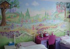 Castle Wall Mural Bedroom