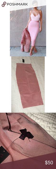 Midi skirt Size S. Brand new with tag. Skirts Midi