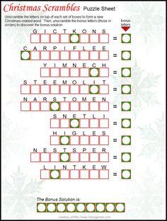 Christmas angel crossword puzzle christmas pinterest angel christmas crossword christmas puzzle christmas words holiday games christmas games christmas readings christmas activities christmas worksheets malvernweather Gallery