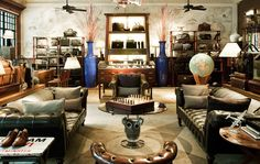 Exploring the Alfred Dunhill Shanghai Home Office Wall Design, Office Walls, Alfred Dunhill, Restaurant Exterior, Interior And Exterior, Interior Design, Outdoor Cafe, French Colonial, Room Screen