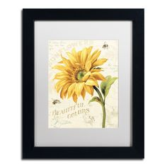 Under the Sun II by Lisa Audit Matted Framed Painting Print